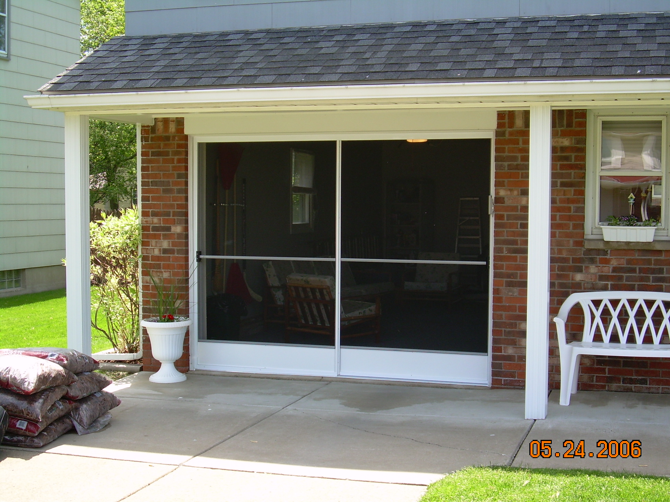 Garage Screen Door Amp Patio Enclosure Installation Gallery